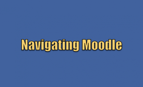 MLP Tech Tips: Navigating Moodle